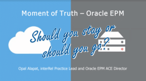 Oracle OnPrem or Cloud Webinar