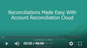 Oracle Account Reconciliation Cloud